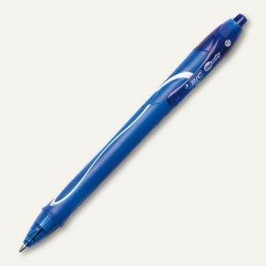 BIC Gelschreiber Gelocity Strichfarbe blau