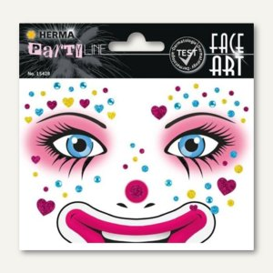 Face Art Sticker
