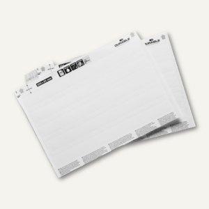 Einsteckschilder für SCANFIX/LABELFIX, 200 x 30 mm, weiß, 20 Bögen/80 Schilder