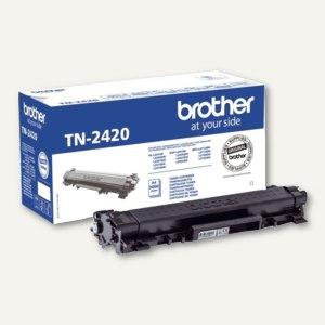 Toner TN-2420 für Laserdrucker HL-L2310D, ca. 3.000 Seiten, schwarz, TN-2420