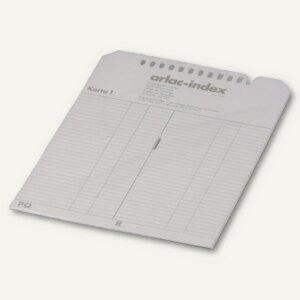 Ersatzregisterkarten arlac-index 827.00