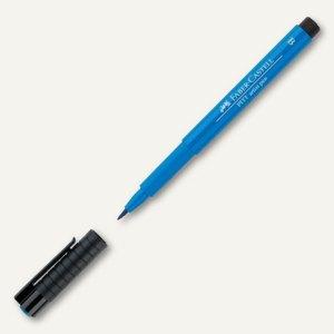 Tuschestift PITT artist pen, Pinselspitze 1-5 mm, wasserfest, phthaloblau