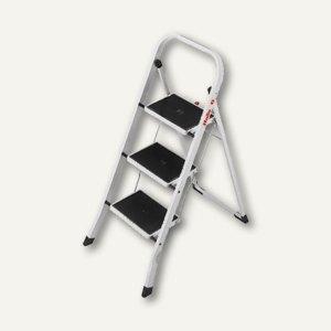 hailo stahl klapptritt k20 4397 901 preisvergleich tritt g nstig kaufen bei. Black Bedroom Furniture Sets. Home Design Ideas