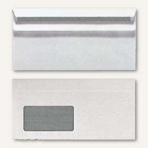 officio Briefumschläge DL, 110x220 mm, selbstklebend