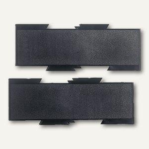 Erweiterungsplatten-Set, schwarz, 2er Set, 5880104