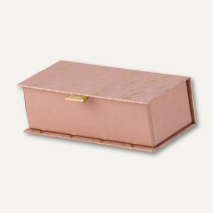 Krimskrams Klapp-Box ART DECO, 175 x 70 x 50 mm, rosewood, 3 Stück, 14551463000