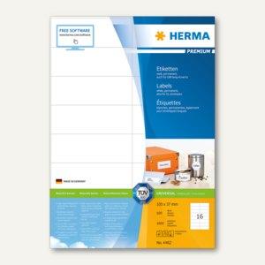 Etiketten Premium - 105 x 37 mm