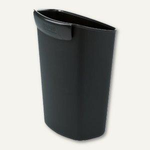 """Abfalleinsatz für Han Papierkörbe """"GRIP"""" & """"i-line"""", 2.5 Liter, PP, schwarz"""