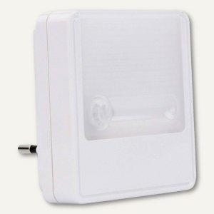 LED-Nachtlicht Guide MOTION, 0.3W, 10 Lumen, (H)80 mm, ABS, weiß, 1600-0097
