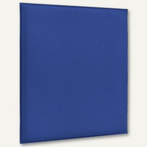 Akustik-Deckenpaneel, 62 x 62 cm, schallabsorbierend, Filz/Vlies, azurblau, 2 St