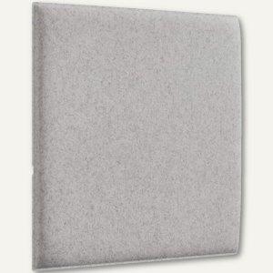 Akustik-Deckenpaneel, 62 x 62 cm, schallabsorbierend, Filz/Vlies, beige, 2 St.