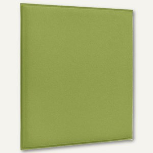 Akustik-Deckenpaneel, 62 x 62 cm, schallabsorbierend, Filz/Vlies, limone, 2 St.