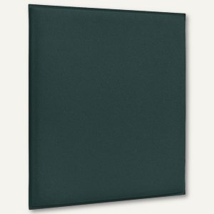 Akustik-Deckenpaneel, 62 x 62 cm, schallabsorbierend, Filz/Vlies, grün, 2 St.