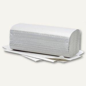 Handtuchpapier PLUS, 250 x 230 mm, V-Falz, Altpapier, natur, 20x 250 Blatt