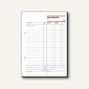 Formular Kassenbericht A5 hoch