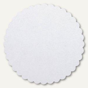 Siegelsterne, (Ř)60 mm, selbstklebend, Papier, weiß/rot, 500 Sück, 3828621