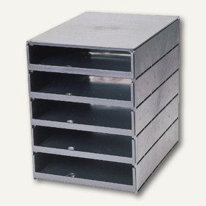 Stryroval Schubladenbox, 5 offene Sch