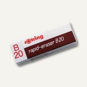 Radierer rapid-eraser B20 R551120 123x121x22mm