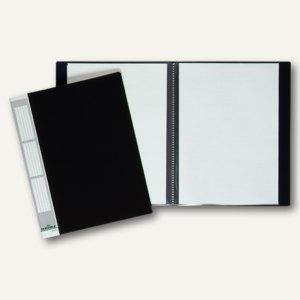 Sichtbuch DURALOOK A4, 10 Hüllen, Rücken 9 mm, Rückenschild, schwarz, 2421-01
