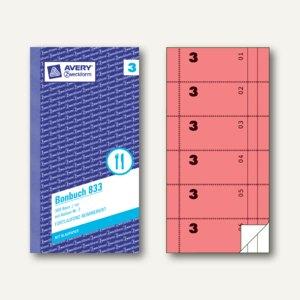 Formular Bonbuch mit Kellner-Nr. 3