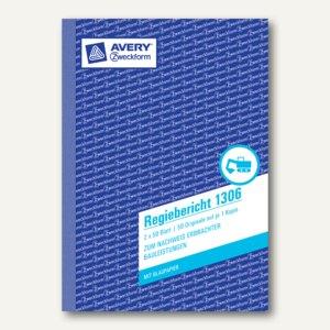 Formular Regiebericht DIN A5 hoch