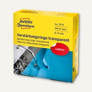 Verstärkungs-Ringe Ø 13 mm transparent