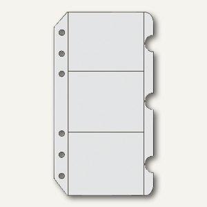 Zeitplaner Visitenkartenhüllen Din A6 3 Stück