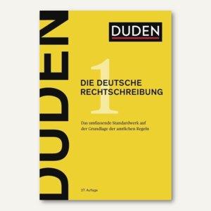 Band 01 - Die Deutsche Rechtschreibung