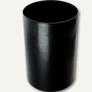 Monza Papierkorb aus Lederfaserstoff