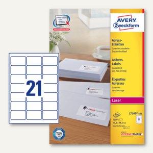 Adress-Etiketten für C6-Kuverts