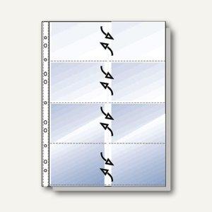 Rexel Visitenkartenhüllen Din A4 Für Je 16 Karten 12 Hüllen