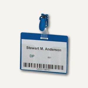 Namensschild Security mit Clip
