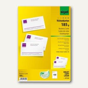Pc Visitenkarten 180 G M 85x55mm Hochweiß 150 Stück