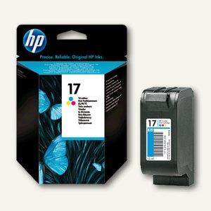 HP Tintenpatrone Nr. 17 für Deskjet 840C, 3-farbig C/M/Y, 15 ml, C6625AE