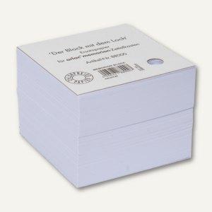 Ersatzpapier für Zettelbox MEMORION - mit Lochstanzung