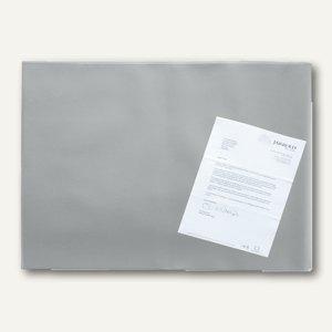 officio Schreibunterlage mit Folie, 65 x 52 cm, grau