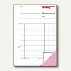 Formular Bestellung DIN A5 hoch 2x50 Blatt
