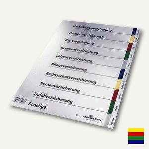 Ringbuchregister für Versicherungen