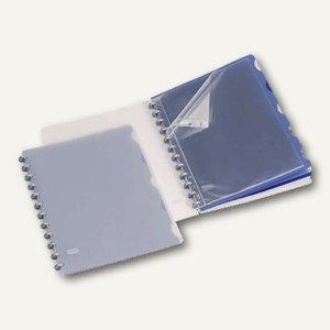 Vario Zipp Overhead-Mappe DIN A4 weiß