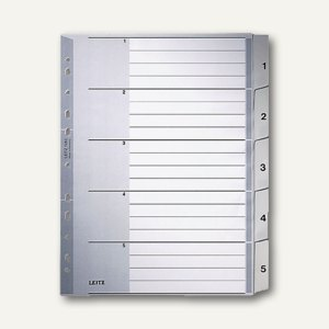 Kunststoff-Register für DIN A4 Überbreite