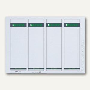 Einsteck-Rückenschilder für PC Beschriftung