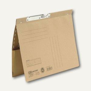 Pendelhefter mit Tasche, kaufm. Heftung, 230 g/qm, natron, 100570027