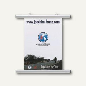 Plakatschienen zum Aufhängen