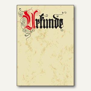 Designpapier Urkunde-Calligraphie