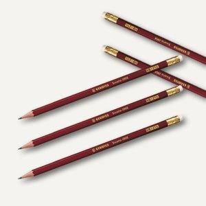 STABILO Bleistift Schwan mit Radiergummi Härte: HB, 4906/HB