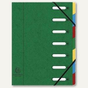 Ordnungsmappe DIN A4, 7-teilig, gr