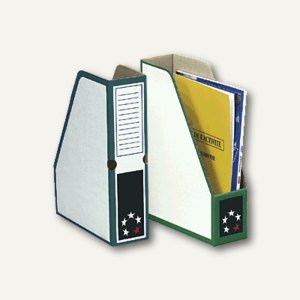 Zeitschriftenbox DIN A4, Karton, gr
