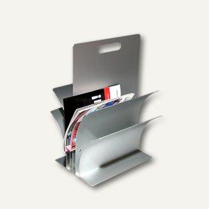 Zeitungsständer aus Aluminium