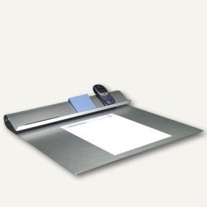 Schreibtischunterlage aus eloxiertem Aluminium