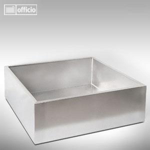 edelstahlbecken f r zimmerbrunnen 60 x 60 cm. Black Bedroom Furniture Sets. Home Design Ideas